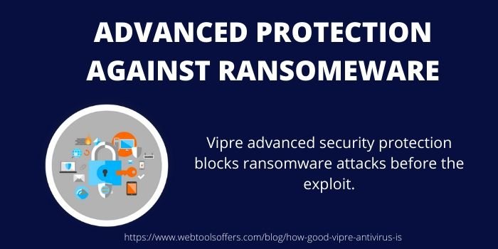 ADVANCED PROTECTION AGAINST RANSOMEWARE