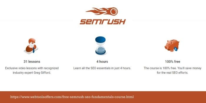 Free SEMrush SEO Fundamentals Course