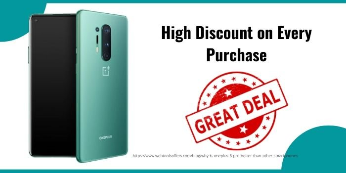 Oneplus High Discount on Every Purchase
