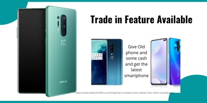 Oneplus Trade in Feature Available