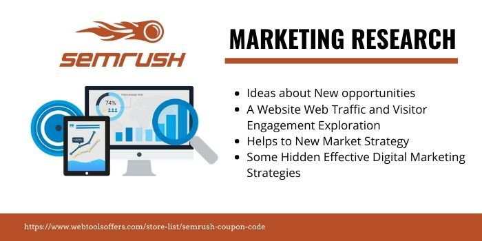 SEMrush Coupon & Deals- MARKETING RESEARCH