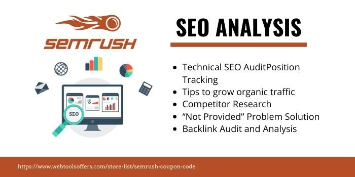 SEMrush Coupon - SEO ANALYSIS