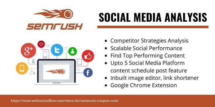 SEMrush Discount Code- SOCIAL MEDIA MARKETING