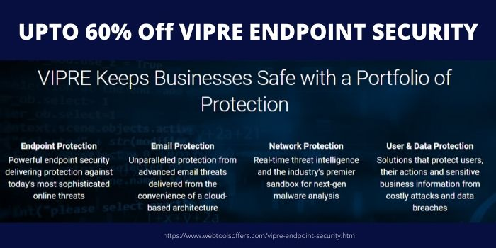 Vipre Endpoint Security For Business Discount