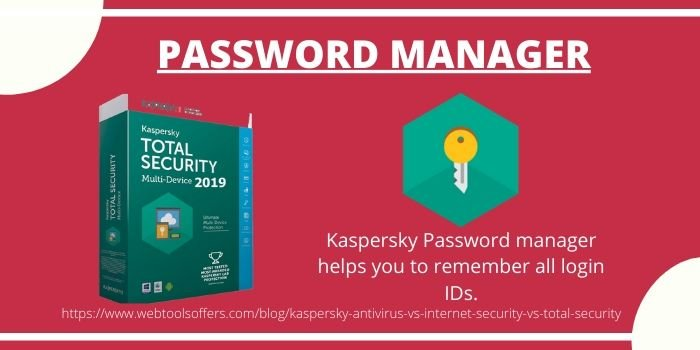 Difference between Kaspersky Antivirus and Internet Security and Total Security- Total Security Benefits