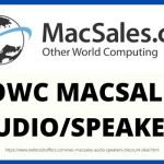 OWC MacSales Audio Speakers Discount Deal