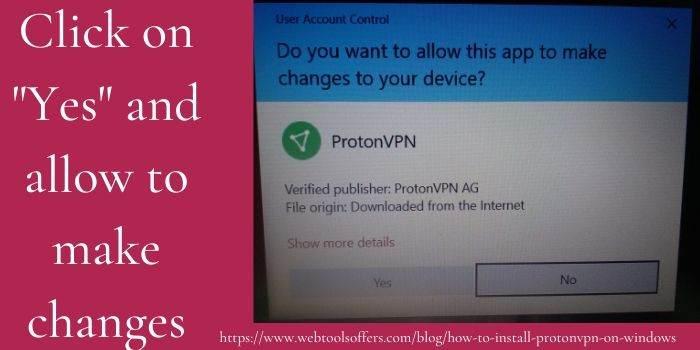 Allow ProtonVPN
