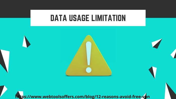 FREE VPN COMES WITH DATA USAGE RESTRICTION webtoolsoffers.com