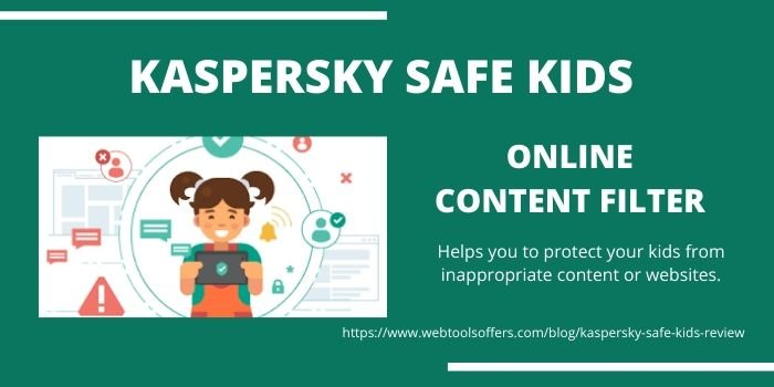 Kaspersky Safe Kids- Online Content Filter