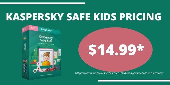 Kaspersky Safe Kids Review 2020- Pricing