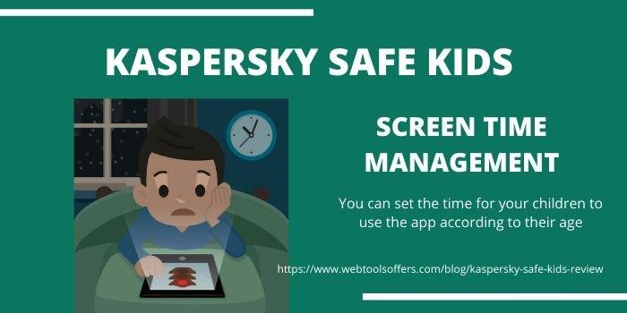 Kaspersky Safe Kids - Screen Time Management