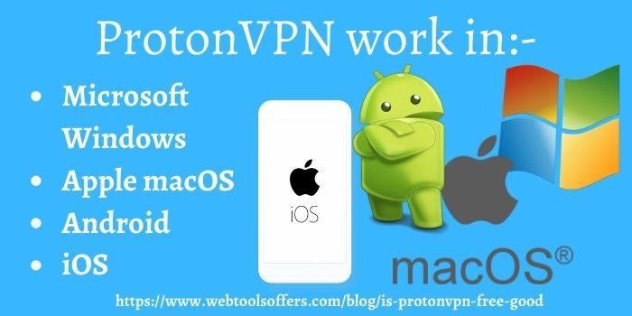 ProtonVPN Device Requirement