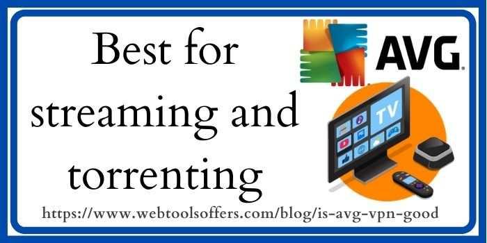 AVG VPN Streaming