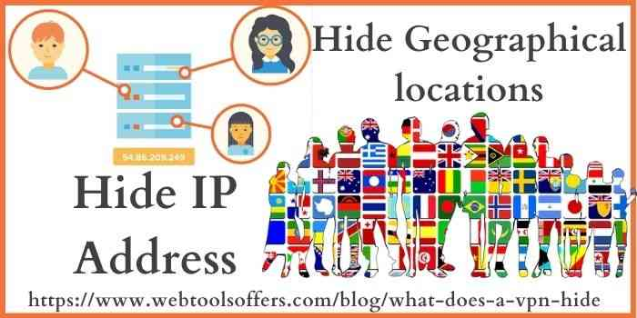 hide IP address & locations