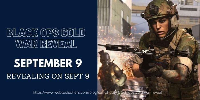 Black OPS Cold War ReveaL