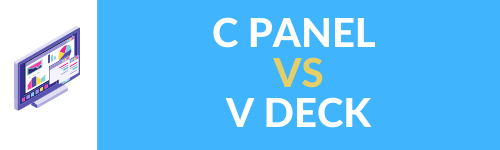 C PANEL VS V DECK WEBTOOLSOFFERS.COM