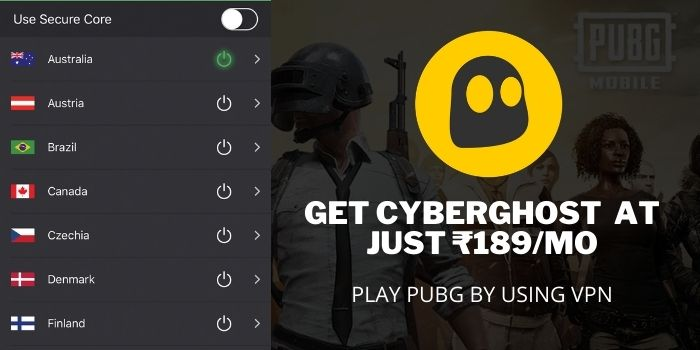 PLAY PUBG AFTER BAN IN INDIA with CyberGhsot