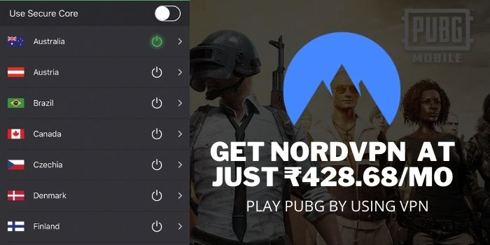 PLAY PUBG AFTER BAN IN INDIA with NordVPN