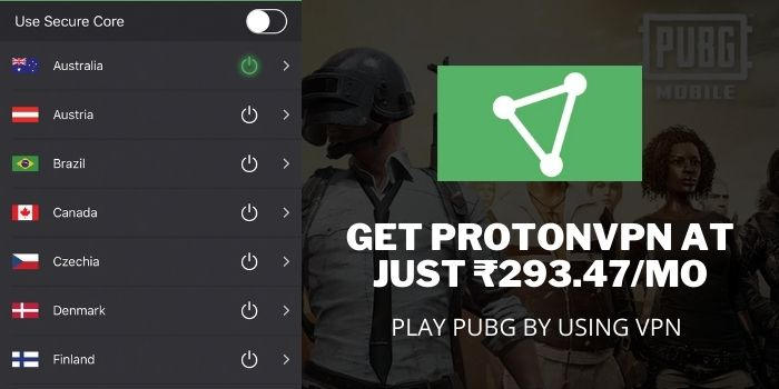 PLAY PUBG AFTER BAN IN INDIA with ProtonVPN