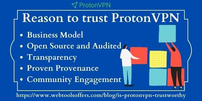 Reason to choose ProtonVPN