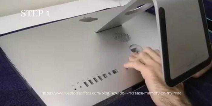 Upgrade Ram on your iMac- Step 1