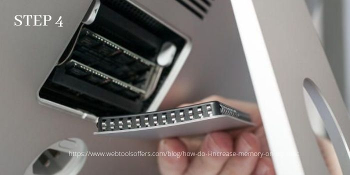 Upgrade Ram on your iMac- Step 4