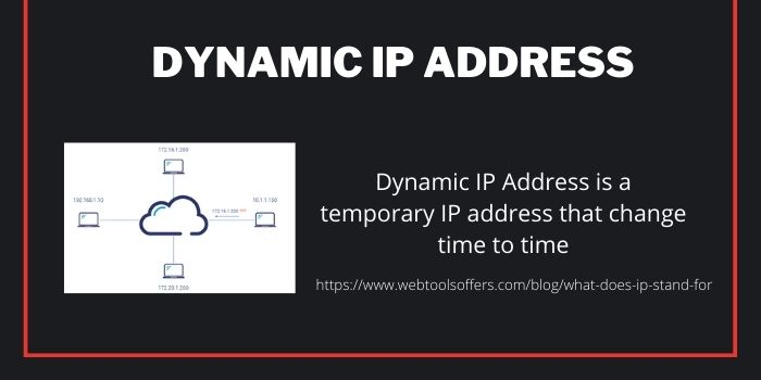dynamic IP Address