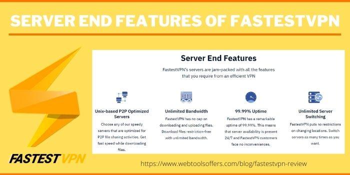 fastest vpn review-advantages