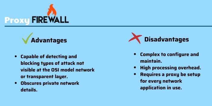 6 types of firewalls - Proxy