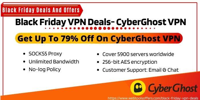 Black Friday VPN - CyberGhost VPN