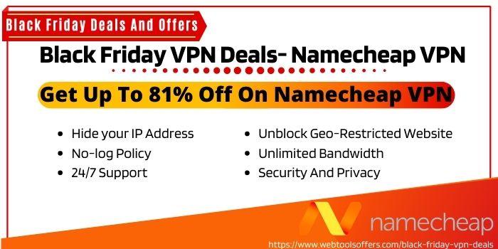 Black Friday VPN Deals- Namecheap VPN