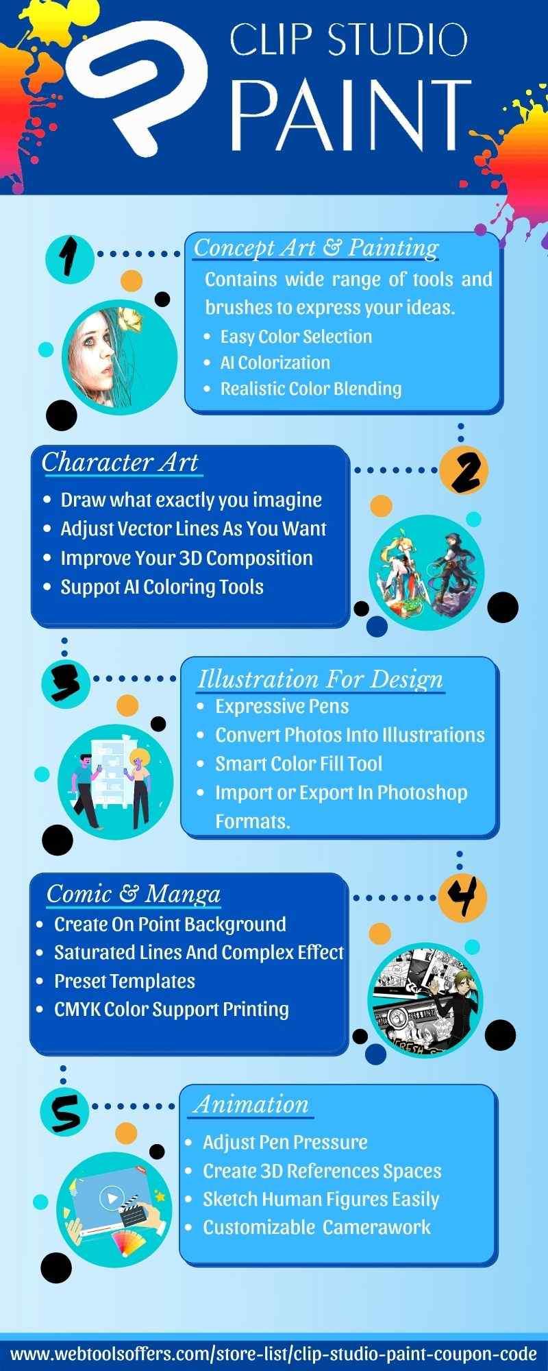 Clip Studio Paint Features Promo Code