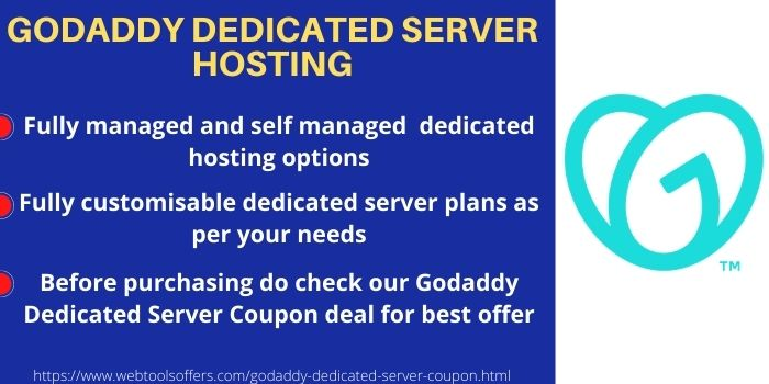 Godaddy Dedicated Server Plans & Offers