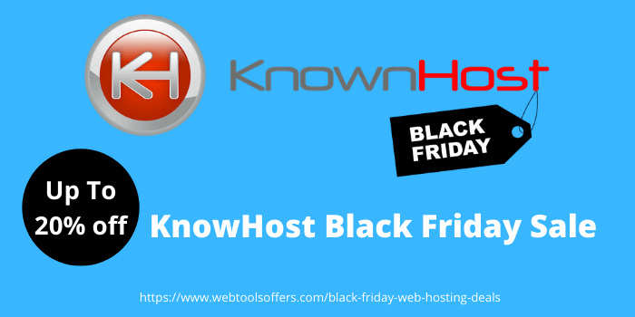 KnowHost Black Friday sale