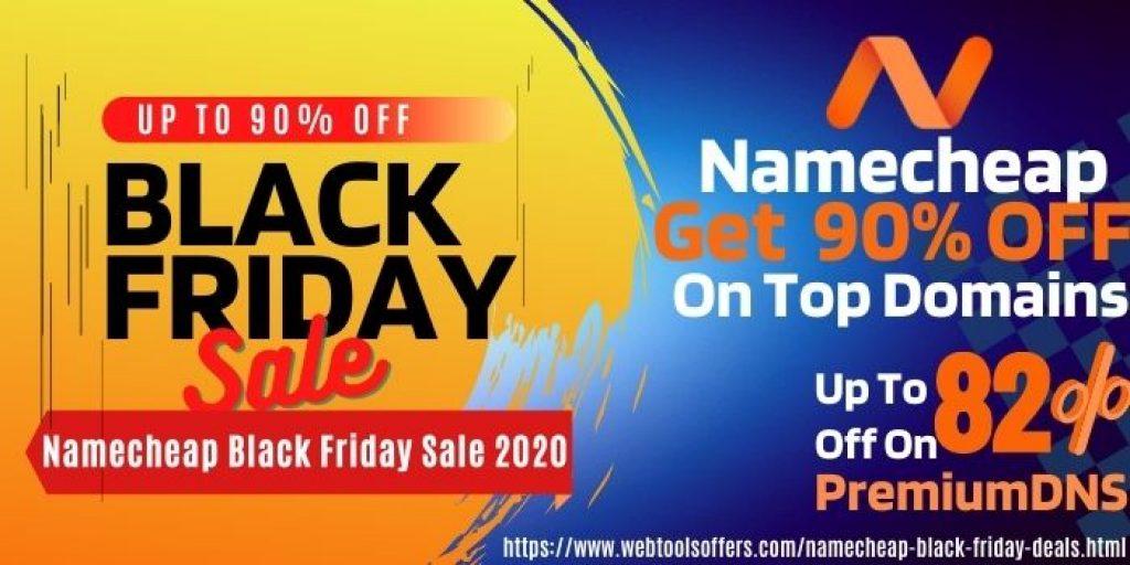 Namecheap Black Friday Sale 2020
