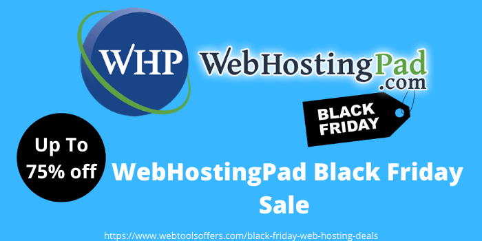 WebHostingPad Black Friday sale