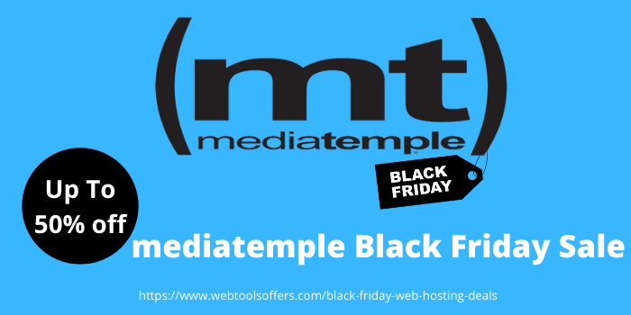 mediatemple Black Friday sale