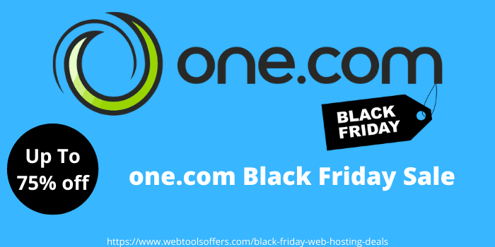 one.com Black Friday sale
