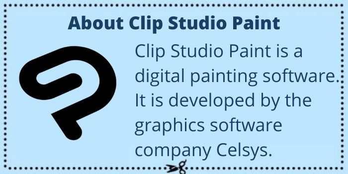 About Clip Studio Paint