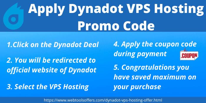 Apply Dynadot VPS Hosting Promo code