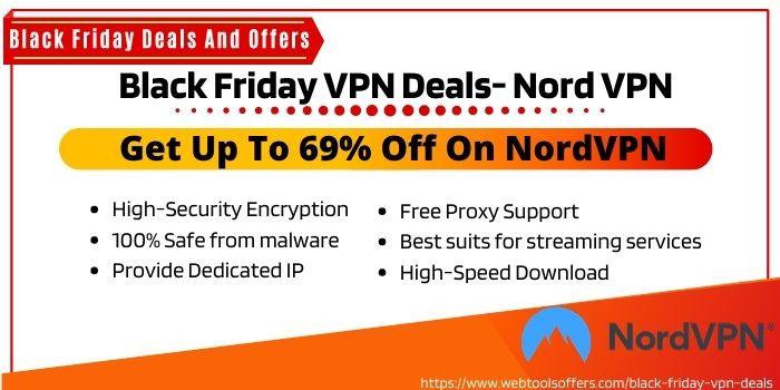 Black Friday VPN Deals- NordVPN