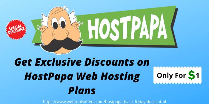 Discounts on HostPapa web hosting plans