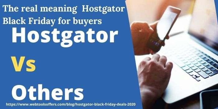 Hostgator Vs Others