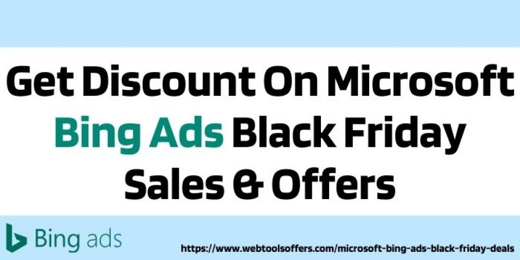 Microsoft Bing Ads Black Friday Sales