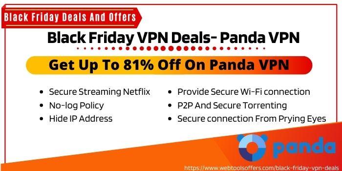 Panda VPN - Black Friday VPN Deals