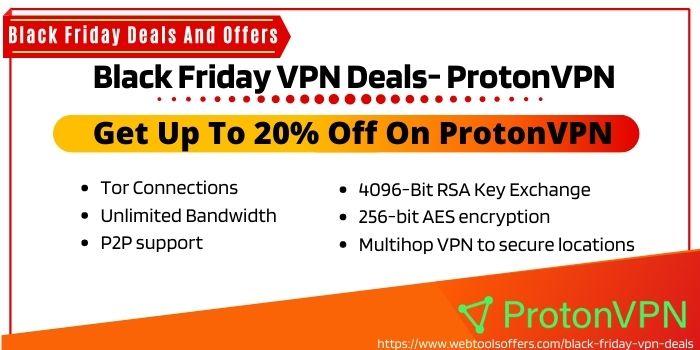 ProtonVPN Black Friday Deals