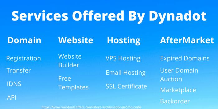Services of Dynadot