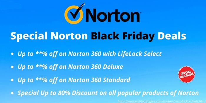 Special Norton Black Friday Deals