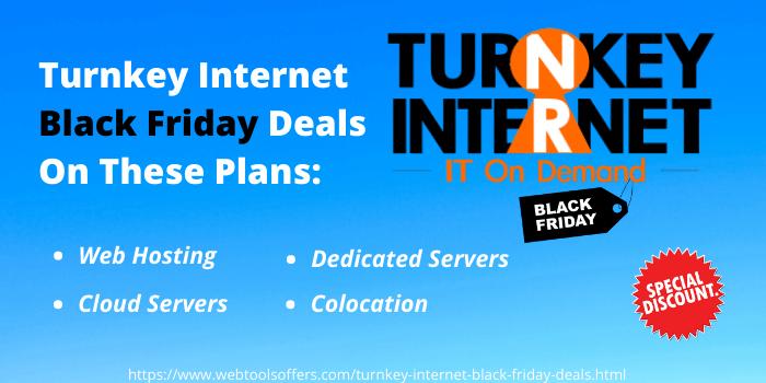 Turnkey Black Friday deals on all web hosting plans