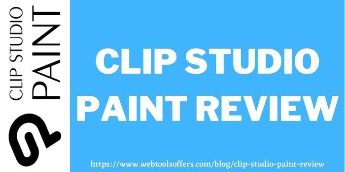 Clip Studio Paint Review www.webtoolsoffers.com